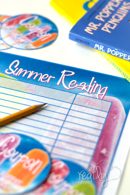 Summer Reading Schedule Printable