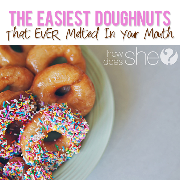 The Easiest Doughnuts
