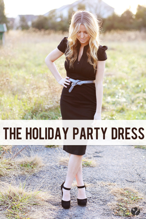 The Holiday Party Dress