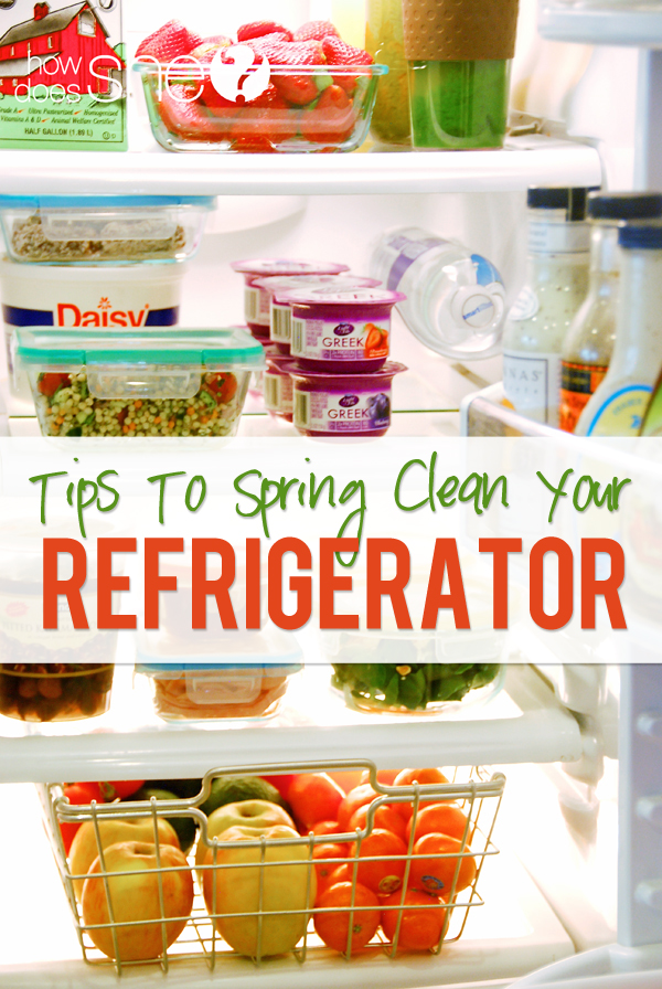 Tips To Spring Clean Your Fridge