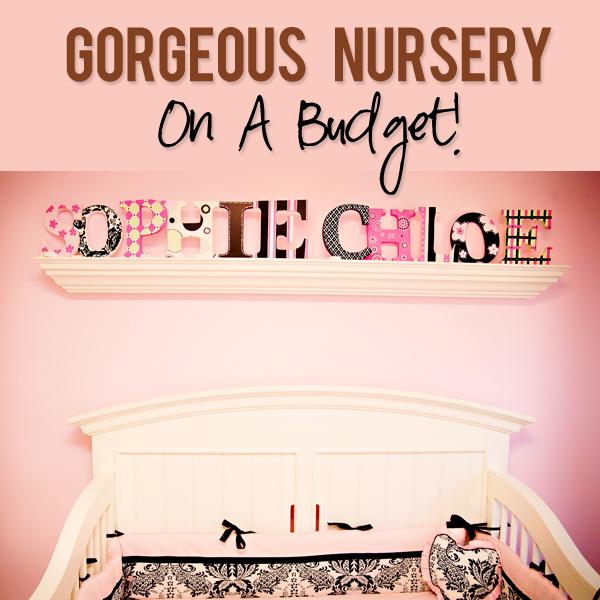 Twins Nursery on a Budget