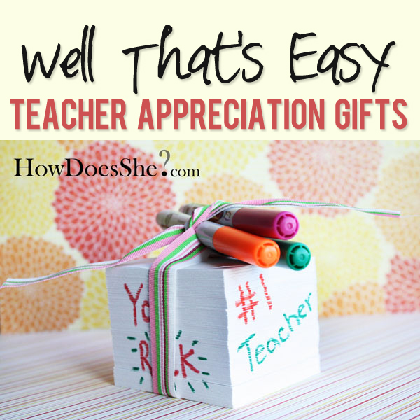 teacher notepad gift