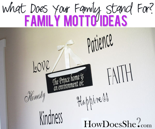 Family Motto ideas