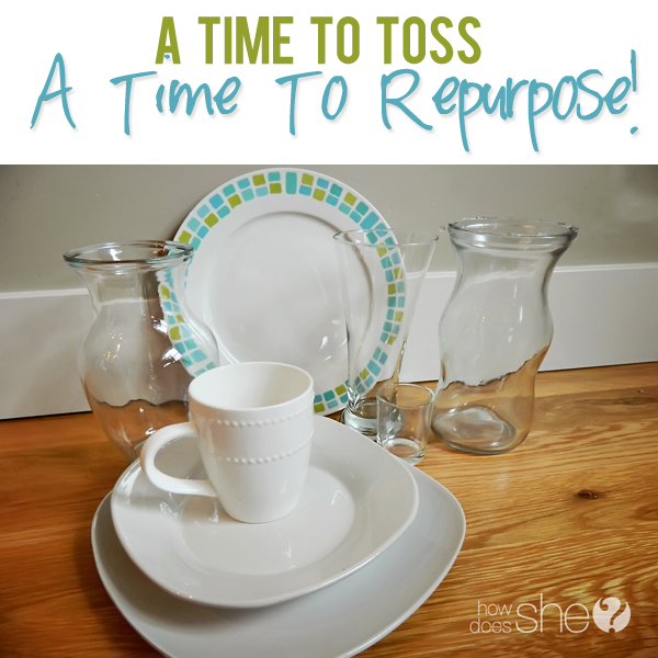 When To Toss and When To Repurpose
