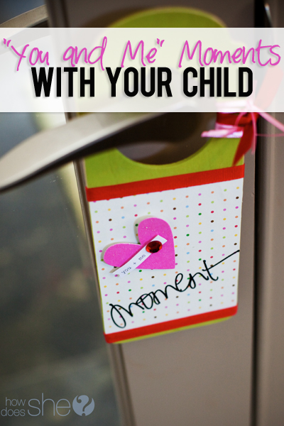 You and Me Moments with your Child