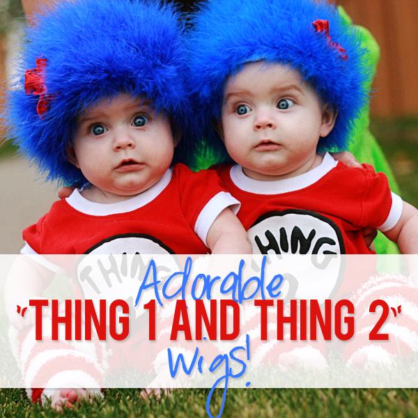 thing 1 thing 2 wig