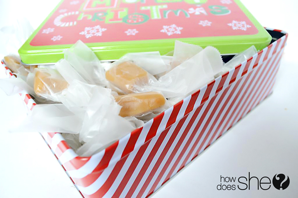 15 minute Holiday Caramels
