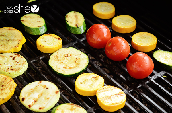 Grilled Summer Squash Salad Recipe