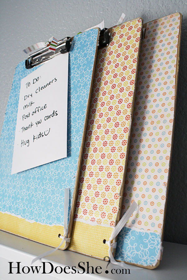 Clip Board Tutorial Make