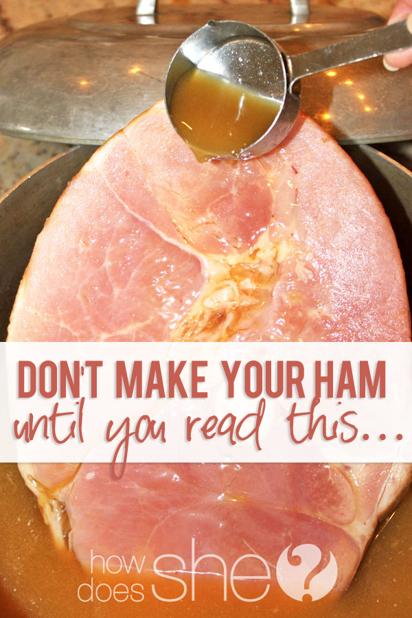 easter ham tips