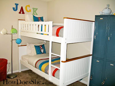 Dr Seuss themed toddler boy room