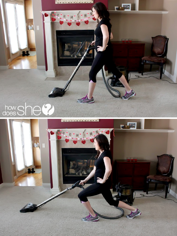 house cleaning fitness