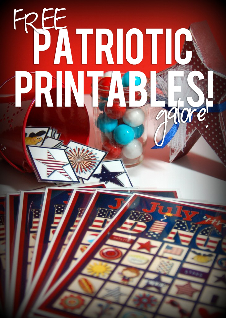 free patriotic printables galore!