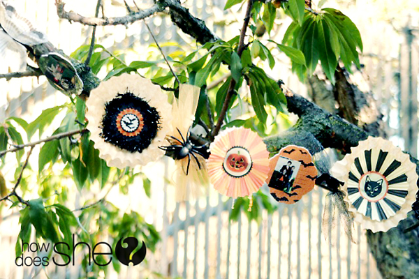 Create a Ghoulish Garland