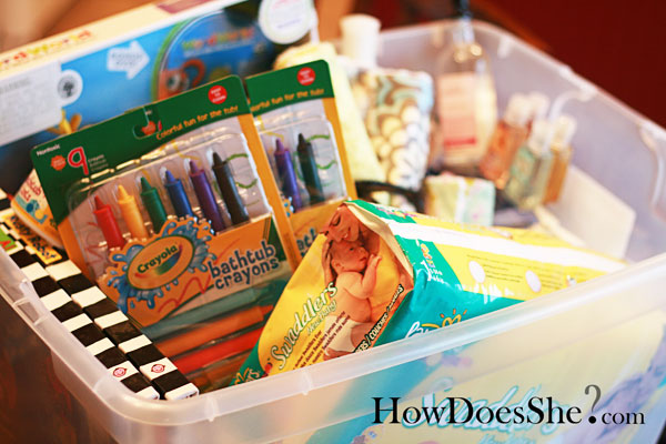 Get organized with your gift giving supplies