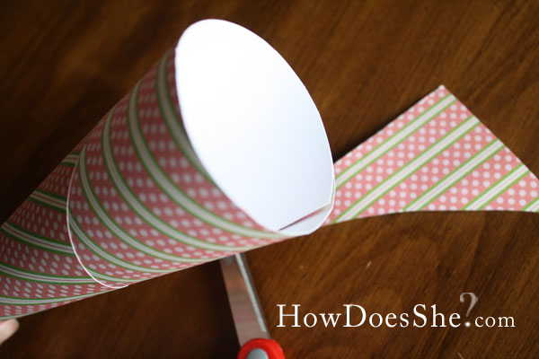 paper cone favors