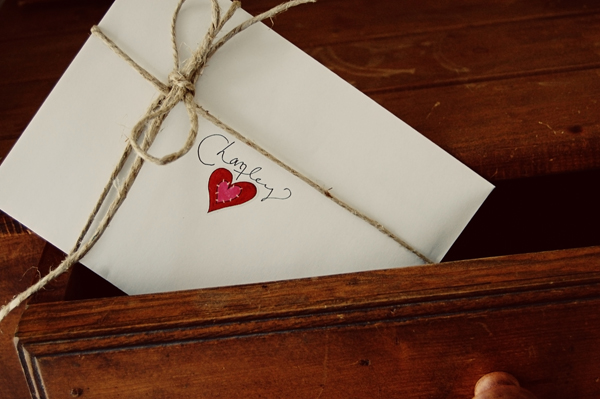 Writing Love Letters To Your Child