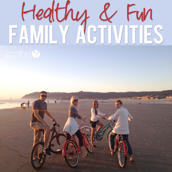 healthy family activities