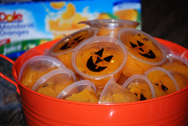 healthy halloween treat idea
