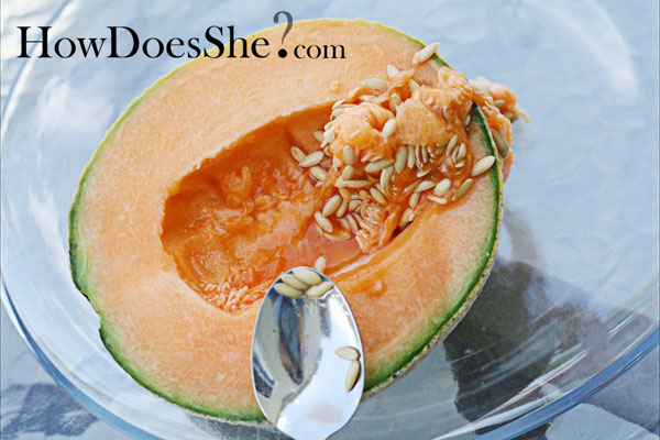 cantaloupe and jello
