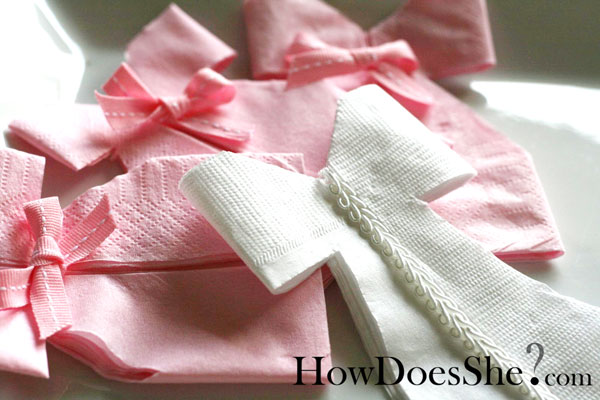 Precious Napkin Dress Tutorial