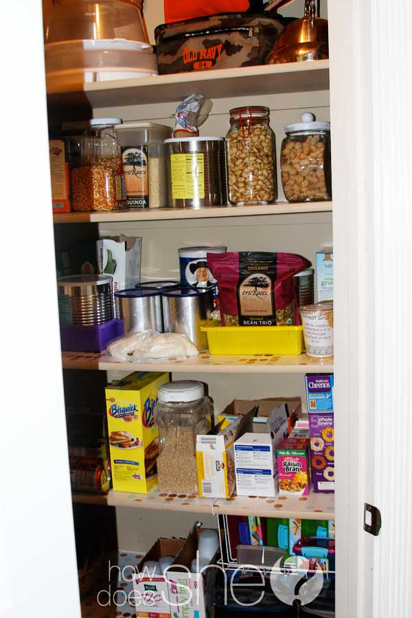 Pantry Reogranization 5 easy tips
