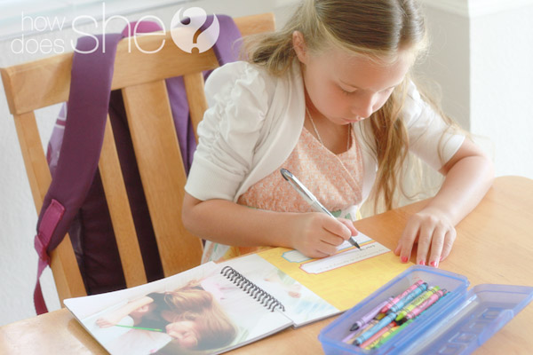 Keep track of their school memories with Paper Coterie