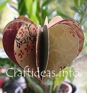 paper heart decor