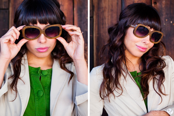Go Green in Fashion sunglasses