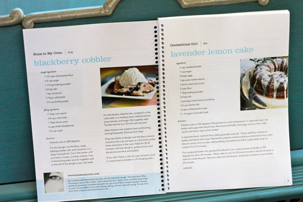 free recipe book template for word