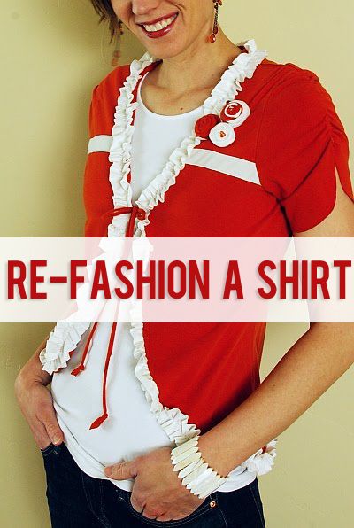 refashion a shirt