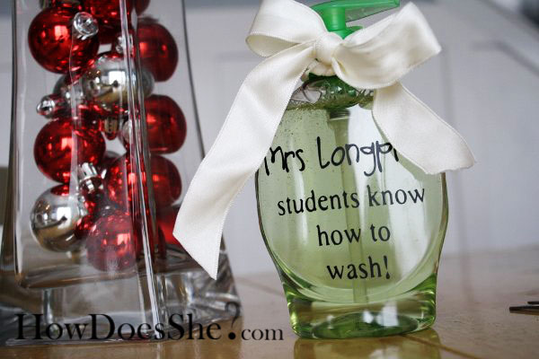 Teacher Appreciation Gift soap