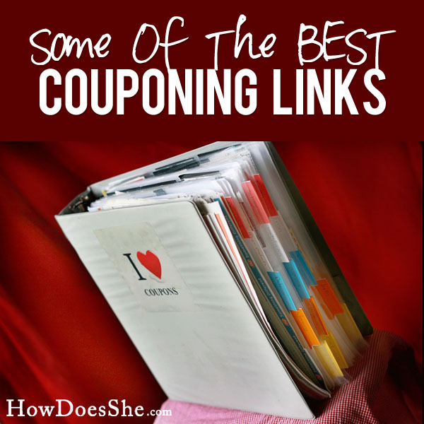some of the best couponing links