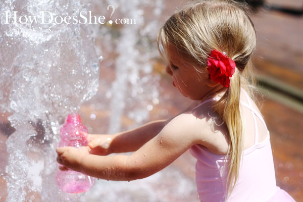 THE Cutest Water Fight Ever.