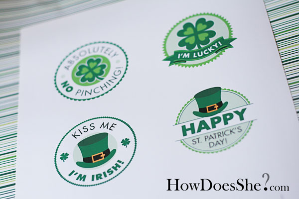 FREE Exclusive St. Patrick's Day Printables!