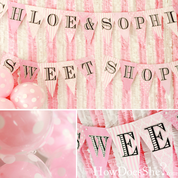 Stunning sweet shop birthday party