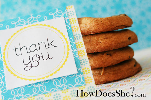 Free Thank You Printables